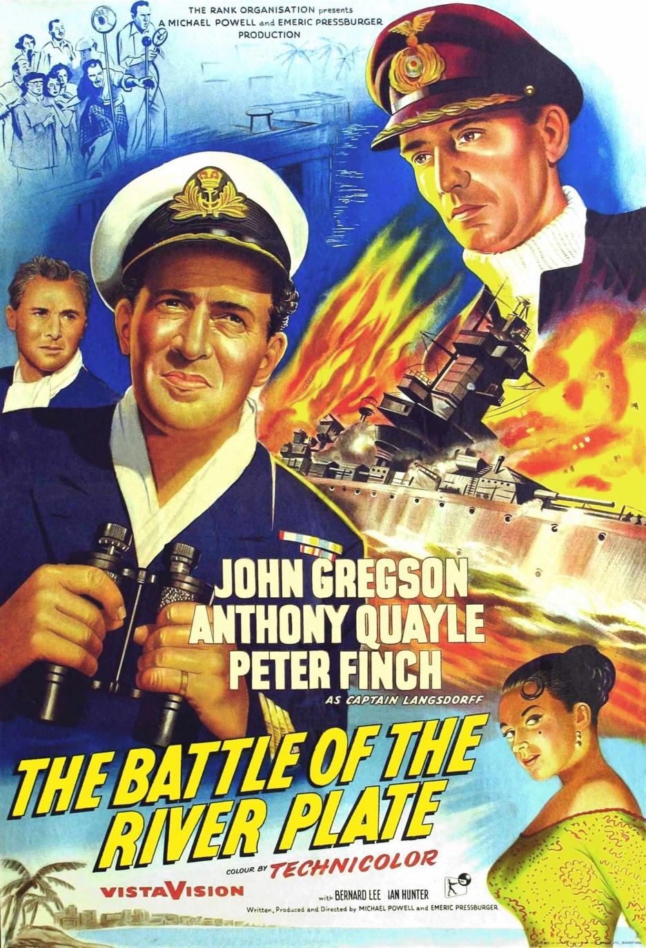 Pursuit Of The Graf Spee 1956 Imdb