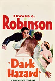 Dark Hazard (1934) Poster - Movie Forum, Cast, Reviews