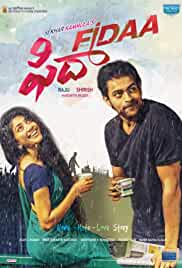 Fidaa | 1 GB | 720p | Uncut HDrip | Hindi + Malayalam + Telugu