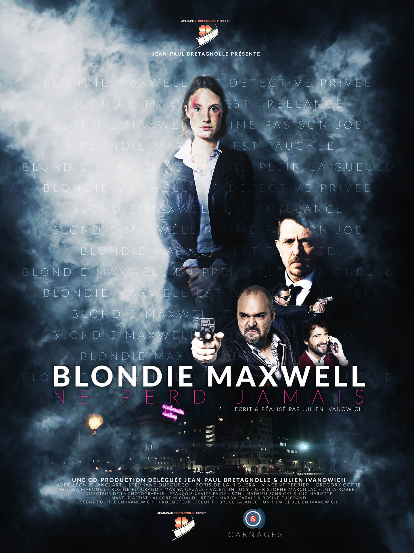 Blondie Maxwell Never Loses (2020) WebRip 720p Dual Audio [Hindi (Voice Over) Dubbed + French] [Full Movie]