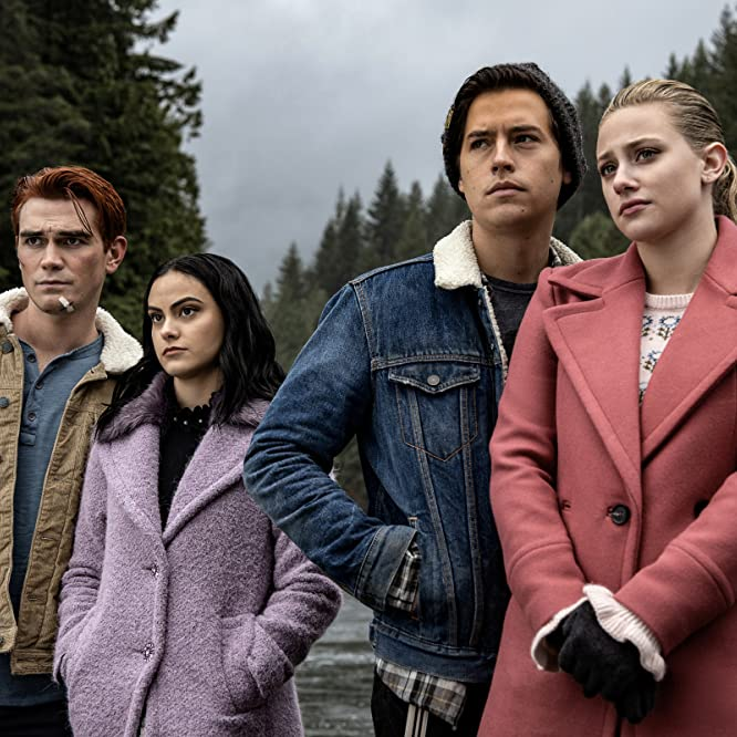 Cole Sprouse, Lili Reinhart, Camila Mendes, and K.J. Apa in Riverdale: Chapter Sixty-Six: Tangerine (2019)