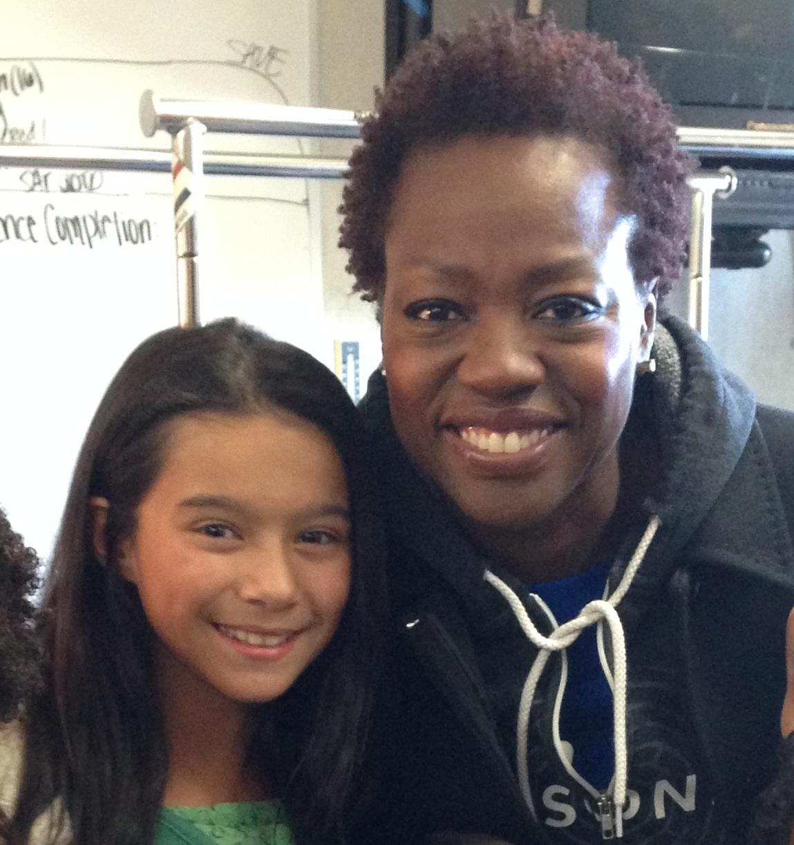 Working PSA with Viola Davis