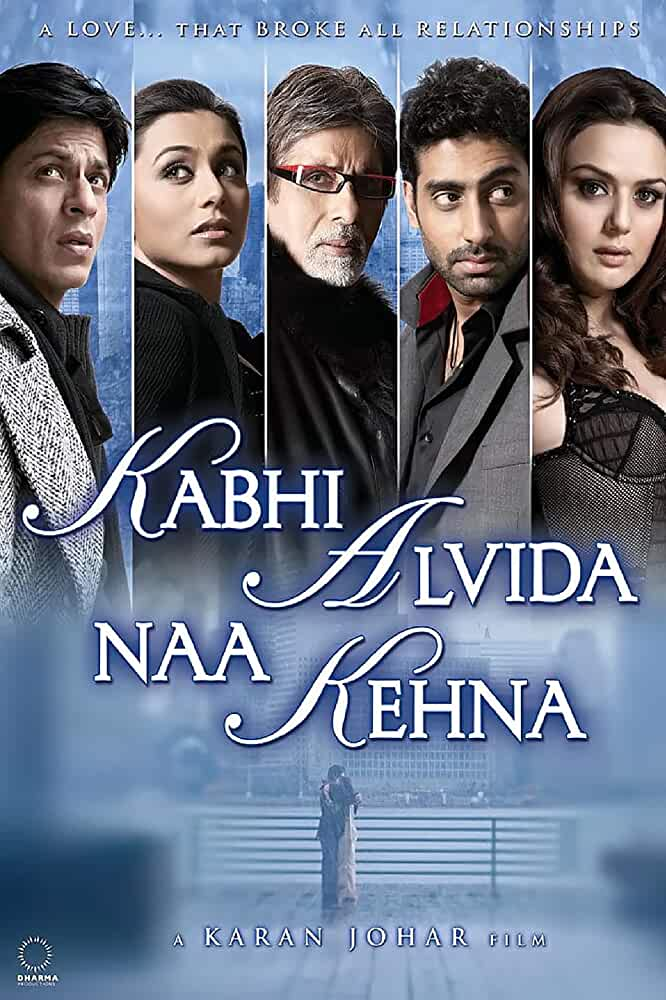 Download Kabhi Alvida Naa Kehna (2006) Hindi Full Movie 480p [600MB] BluRay ESubs