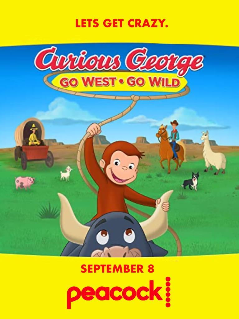 watch Curious George: Go West, Go Wild on soap2day