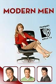 Jane Seymour, Max Greenfield, Eric Lively, and Josh Braaten in Modern Men (2006)