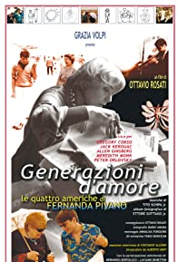Primary photo for Generazioni d'amore: Le quattro Americhe di Fernanda Pivano