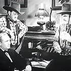 Lew Meehan, Walter Miller, and Harry Woods in Bullet Code (1940)