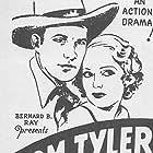 Ruth Hiatt and Tom Tyler in Ridin' Thru (1934)