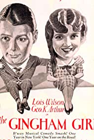 George K. Arthur and Lois Wilson in The Gingham Girl (1927)