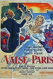 Paris Waltz(1950) Poster - Movie Forum, Cast, Reviews