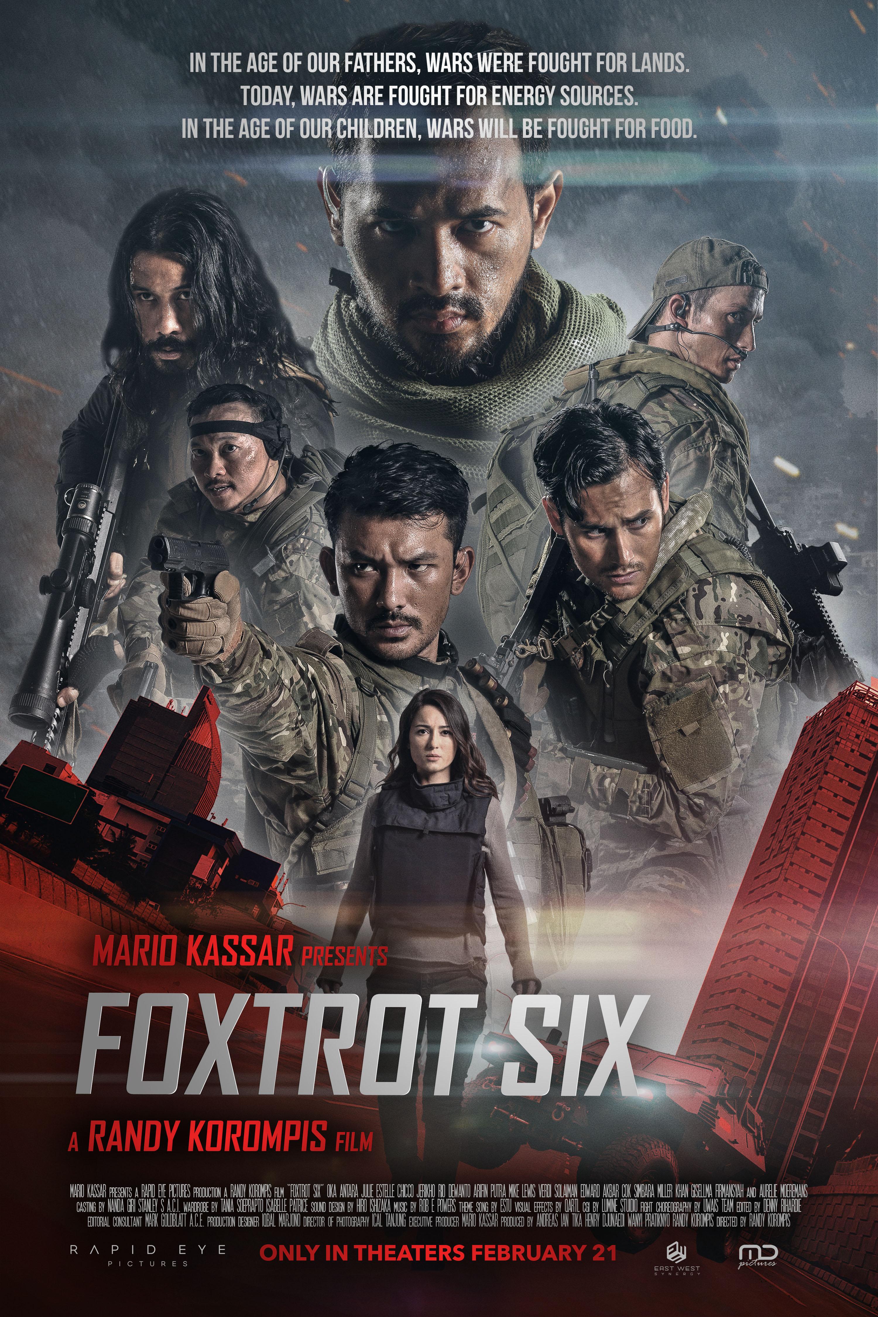 فيلم Foxtrot Six 2019 مترجم