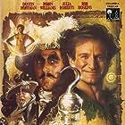 Dustin Hoffman, Julia Roberts, Robin Williams, and Bob Hoskins in Hook (1991)