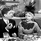 Barbara Lawrence and Rudy Vallee in Unfaithfully Yours (1948)