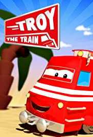 Troy the Train of Car City Poster