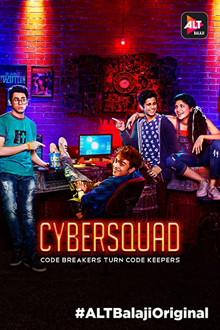 Cyber Squad (2017) Hindi WEB-DL - 720P - x264 - 2GB - Download & Watch Online  Movie Poster - mlsbd