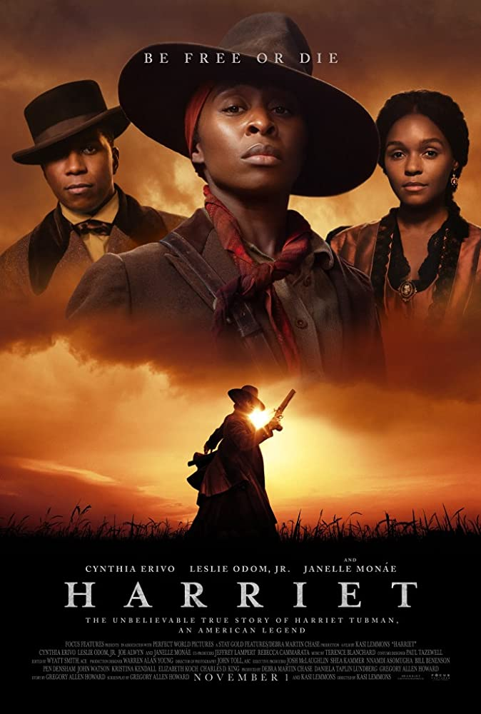 Leslie Odom Jr., Janelle Monáe, and Cynthia Erivo in Harriet (2019)