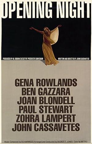 Opening Night Poster Image