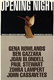 Opening Night (1977) Poster - Movie Forum, Cast, Reviews