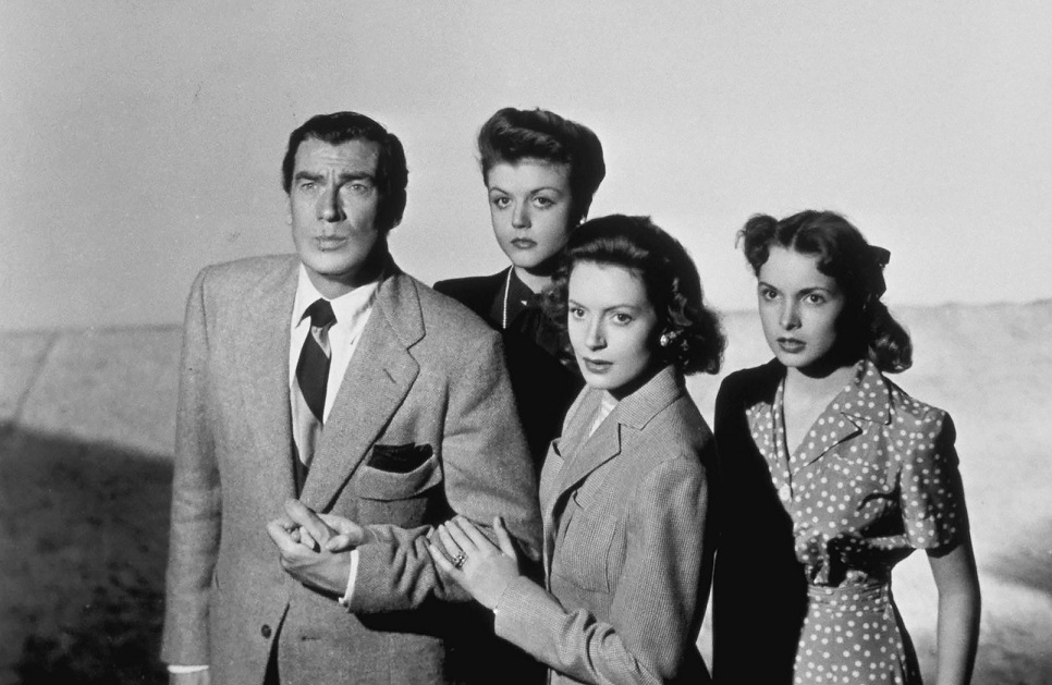 Deborah Kerr, Angela Lansbury, Janet Leigh, and Walter Pidgeon in If Winter Comes (1947)