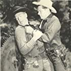 Roy Barcroft and Tom Keene in Desperadoes of the West (1950)