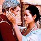 Barbara Carrera and Peter O'Toole in Masada (1981)