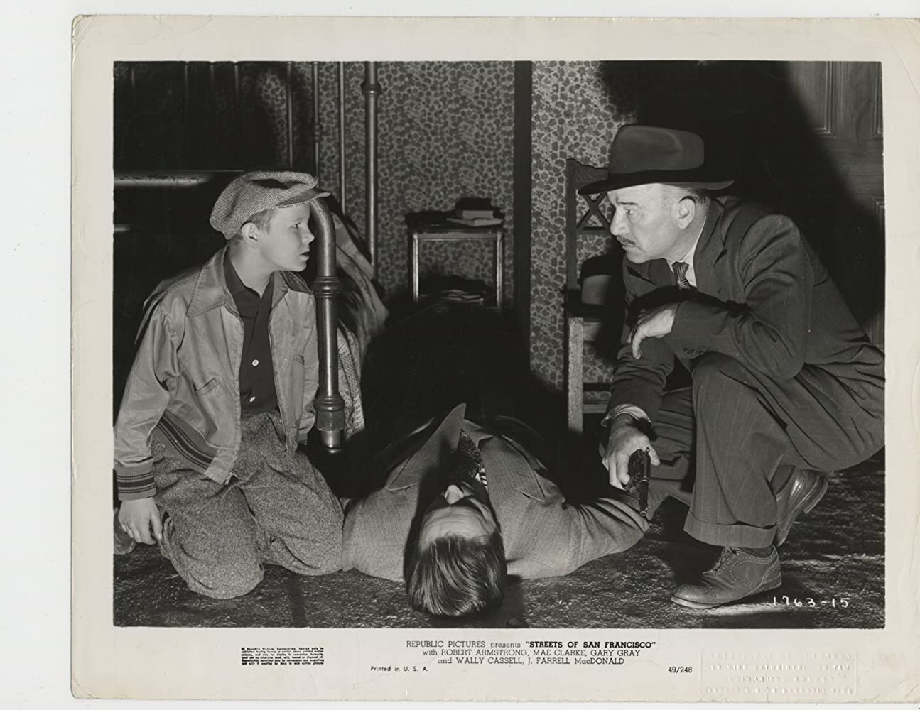 Robert Armstrong and Gary Gray in Streets of San Francisco (1949)