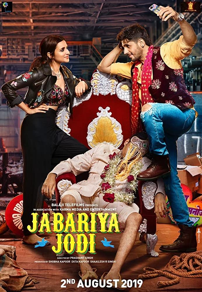 Jabariya Jodi 2019 Hindi Movie Official Trailer 720p HDRip 53MB Download