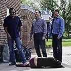 Eric Schweig, Michelle Thrush, and Tommy J. Mueller in Blackstone (2009)