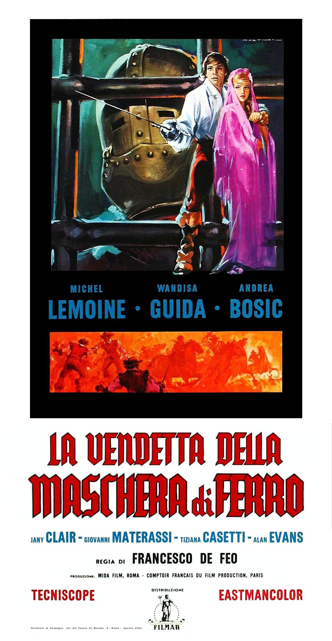 La vendetta della maschera di ferro (1961)