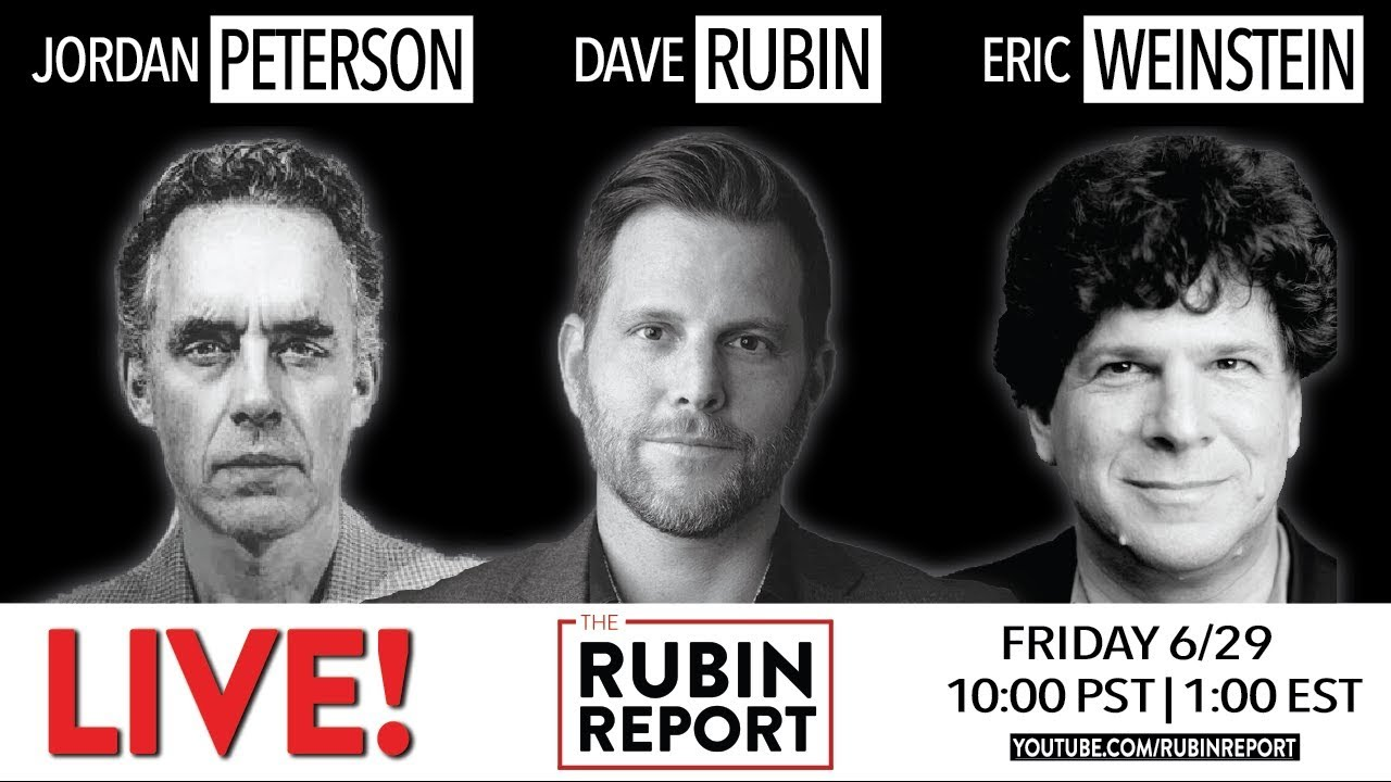kup tanio Gdzie mogę kupić niska cena Jordan Peterson, Eric Weinstein, and Dave Rubin: Live! (2018)