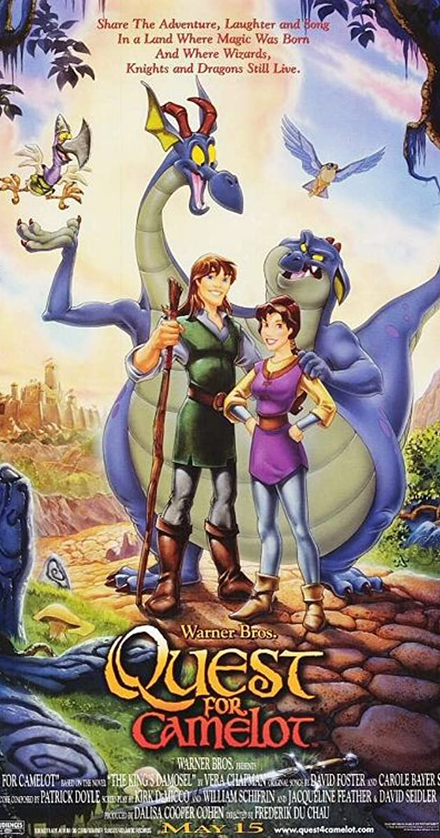 Quest For Camelot 1998 Imdb