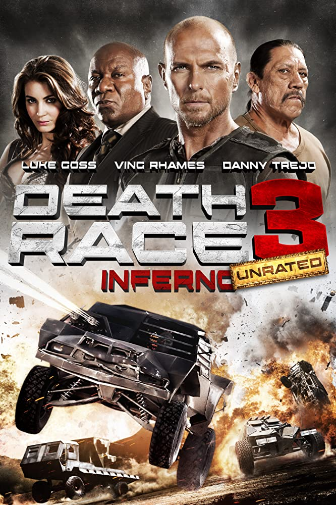 Poster film Death Race Inferno 3