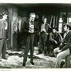 Van Heflin, Claude Akins, James Best, and Peter Graves in The Raid (1954)