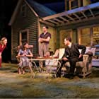 Sally Field, Jenna Coleman, Colin Morgan, and Oliver Johnstone in National Theatre Live: All My Sons (2019)