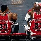 Michael Jordan and Scottie Pippen in The Last Dance (2020)