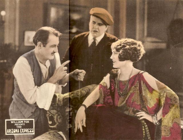 Frank Beal, Bud Jamison, and Pauline Starke in The Arizona Express (1924)