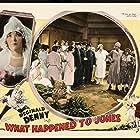 Reginald Denny, Emily Fitzroy, Otis Harlan, Marian Nixon, Zasu Pitts, Margaret Quimby, and Nina Romano in What Happened to Jones? (1926)