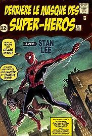 Derrière le masque des super-héros Poster