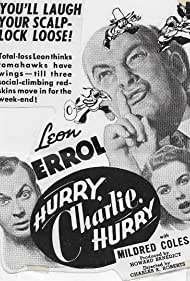 Mildred Coles, Leon Errol, and Douglas Walton in Hurry, Charlie, Hurry (1941)