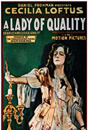 A Lady of Quality Poster
