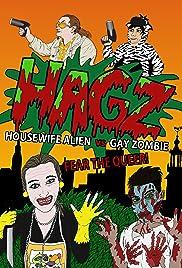 Housewife Alien vs. Gay Zombie Poster