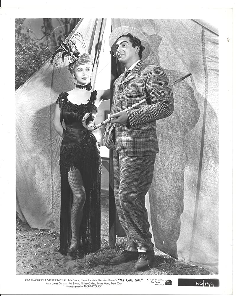 Victor Mature and Carole Landis in My Gal Sal (1942)