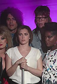 Jeff Hiller, Ivan Hernandez, Rachel Bloom, Ester Dean, and Briga Heelan in Crazy Ex-Girlfriend (2015)