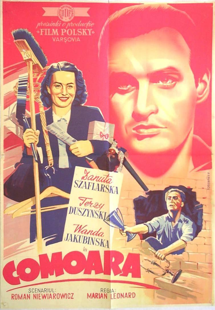 Jerzy Duszynski, Wanda Jakubinska, and Danuta Szaflarska in Skarb (1949)