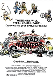 Bad Manners (1984) Poster - Movie Forum, Cast, Reviews