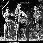 Carita, Adrienne Corri, and Nicola Pagett in The Viking Queen (1967)