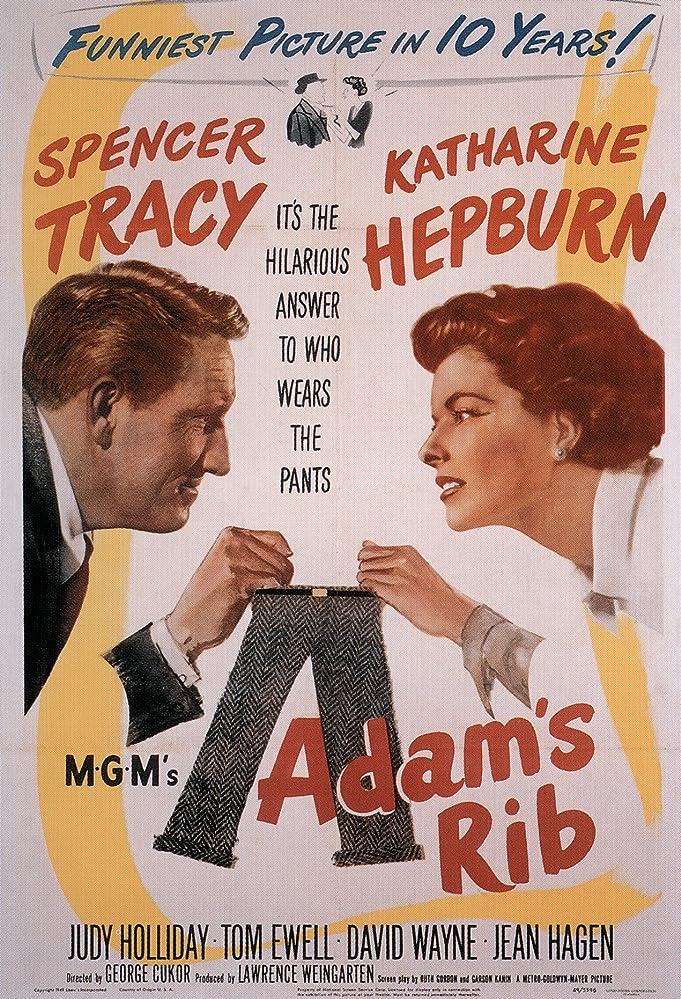 Katharine Hepburn and Spencer Tracy in Adam's Rib (1949)