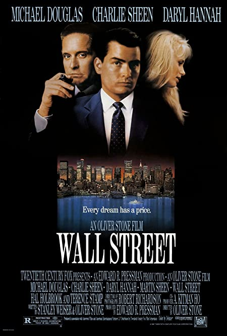 [R] Wall Street (1987) English Blu-Ray - 480P | 720P - x264 - 350MB | 850MB - Download & Watch Online  Movie Poster - mlsbd