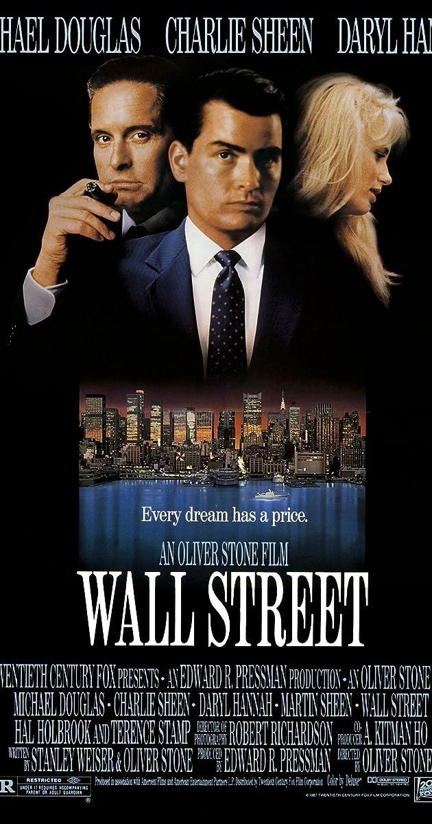Wall Street (1987) - Michael Douglas as Gordon Gekko - IMDb