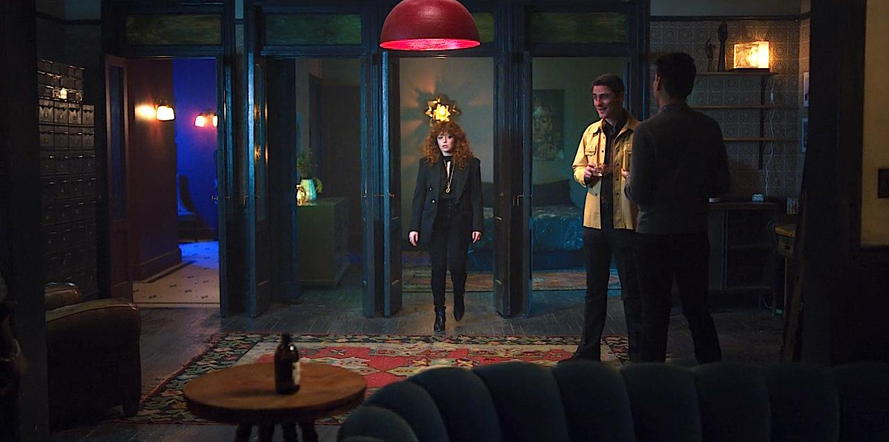 Natasha Lyonne and Jarrod LaBine in Russian Doll (2019)
